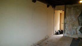 ouverture mur pierre voûte